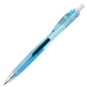 【商品名】 (まとめ) ゼブラ 油性ボールペン スラリ 0.7mm 黒 (軸色 ライトブルー) BN...