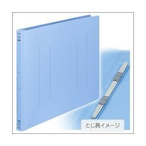 【商品名】 (業務用セット) コクヨ フラットファイル(ポリプロピレン表紙) B4ヨコ・ブルー 【×...