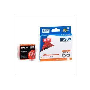 【商品名】 (業務用40セット) EPSON エプソン インクカートリッジ 純正 【ICOR66】 ...