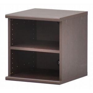 カラーボックス(収納棚/カスタマイズ家具) 2段 〔幅40cm×高さ43.5cm〕 エイ・アイ・エス...