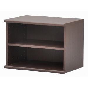 カラーボックス(収納棚/カスタマイズ家具) 2段 〔幅58.9cm×高さ43.5cm〕 エイ・アイ・...