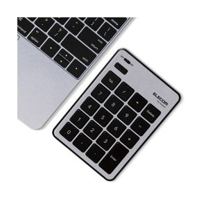【商品名】 エレコム Bluetoothテンキーパッド/パンタグラフ/MacOS対応/薄型/シルバー...