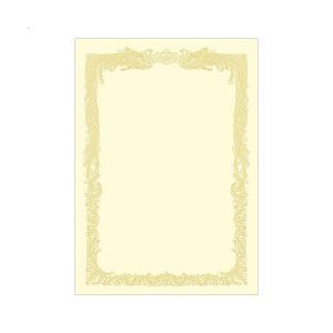 【商品名】 ササガワ タカ印 OA賞状用紙 クリームA4 ヨコ書用 業務用パック 10-1168 1...