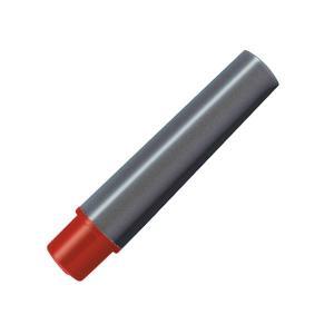 (まとめ) ゼブラ 水性マーカー紙用マッキー極細用インクカートリッジ 赤 RWYTS5-R 1パック...