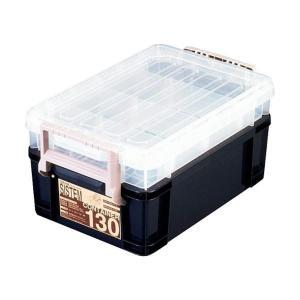 【商品名】 (まとめ) アステージ I.BEAMシステムコンテナ130 ブルー SYS-130 1個...