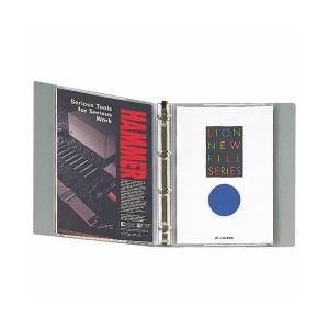 【商品名】 (まとめ)ライオン事務器 PPブックホルダー A42・4穴 透明 LFS-02BH 1冊...