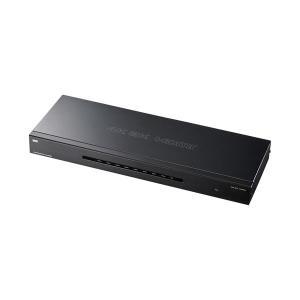 【商品名】 サンワサプライ4K2K対応HDMI分配器 8分配 VGA-UHDSP8 1個 【ジャンル...