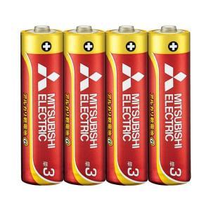 【商品名】 (まとめ) 三菱電機 三菱電機アルカリ乾電池 単3形 40本【×5セット】