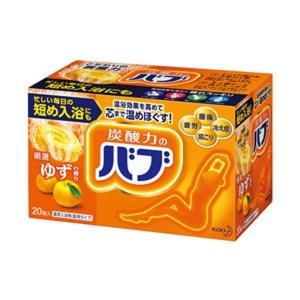 【商品名】 (まとめ)花王 薬用入浴剤 バブ ゆずの香り 1箱(20錠)【×5セット】