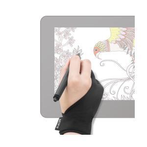 (まとめ)エレコム 液晶ペンタブレット用グローブ/Mサイズ TB-GV1M〔×5セット〕