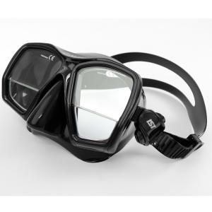 【商品名】 遠近両用 シュノーケルマスク 【BS ブラック】 幅160mm 2重焦点マスク 『GAU...