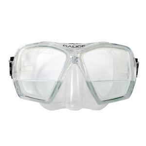 【商品名】 遠近両用 シュノーケルマスク 【C クリア】 幅160mm 2重焦点マスク 『GAUGE...