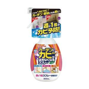 (まとめ)大日本除蟲菊 KINCHOカーテンにカビがはえなくなるスプレー 300ml 1本〔×10セ...