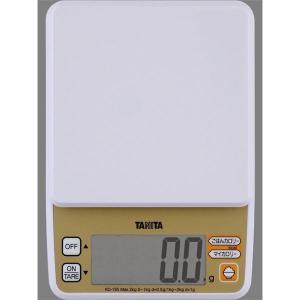 【商品名】 TANITA(タニタ) デジタルクッキングスケール KD-195 ホワイト