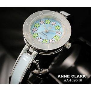 腕時計 レディース アンクラーク ANNE CLARK おしゃれ ハート シルバー フラワー 花 ステンレス ダイヤ かわいい ギフト プレゼント レディース時計 時計 人気|bluestyle