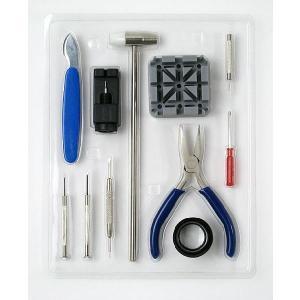時計工具セット 11点 ベルト調整 時計修理工具 腕時計 時計 メンズ レディース 時計工具 ベルト交換 プロ 工具 腕時計用品 取扱説明書付き ピン抜き 腕時計工具|bluestyle