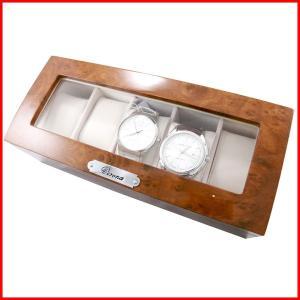 腕時計用ケース 5本 収納ケース 腕時計 木製 メンズ レディース ケース アクセサリー コレクションケース 収納 ウォッチ ウォッチケース 人気 腕時計用品 時計|bluestyle