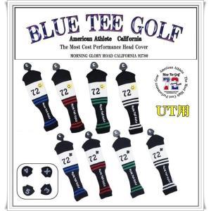 ブルーティーゴルフ BLUE TEE GOLF 【California72】 ニット ユーティリティ用 ヘッドカバー