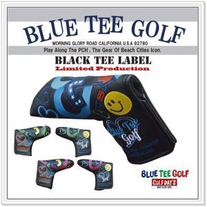 【送料無料】 ブルーティーゴルフ BLUE TEE GOLF 【アゲインスト パー72ラブ】パターカバーLimited Production BLACK TEE LABEL