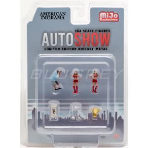 アメリカン ジオラマ 1/64 フィギア オートショー American Diorama Auto ...