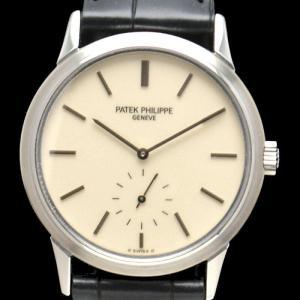 (ウォッチ)PATEK PHILIPPE パテック フィリップ カラトラバ 3718A 150周年記念モデル 日本限定500本 1988年製(u)|blumin