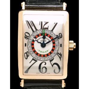 (ウォッチ)(OH済) FRANCK MULLER フランクミュラー ロングアイランド ベガス 1250VEGAS AT K18PG 750PG ピンクゴールド オートマ メンズ 腕時計(u) blumin