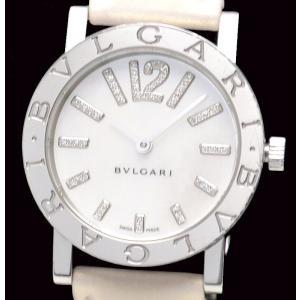 (ウォッチ)(新品仕上げ済) BVLGARI ブルガリブルガリ BB33WSL/D BB33SL シェル文字盤 ダイヤインデックス オートマ 腕時計(u)|blumin