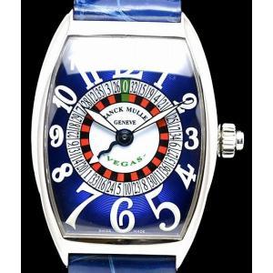 (ウォッチ)(OH済) FRANCK MULLER フランクミュラー トノーカーベックス ベガス 6850VEGAS AT SS オートマ メンズ 腕時計(u) blumin