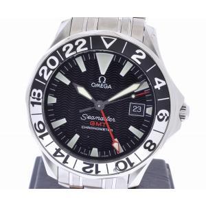 (ウォッチ) OMEGA オメガ シーマスター GMT 42mm 2234.50 2234-50 2234 50 50周年モデル オートマ メンズ 腕時計(u) blumin