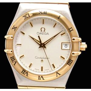 (ウォッチ)OMEGA オメガ コンステレーション コンビ SS/K18YG メンズ クォーツ 1312.30 1312/30 1312-30 腕時計(u) blumin