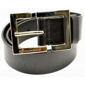 DOLCE&GABBANA D&G ドルチェアンドガッバーナ ドルガバ メンズ レザー ベルト #100 黒 ブラック BC2828(u)|blumin