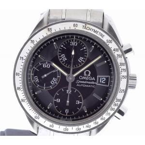 (ウォッチ)OMEGA オメガ スピードマスター デイト ブラック文字盤 3513.50 3513 50 3513-50 AT オートマ 自動巻き メンズ 腕時計(u) blumin