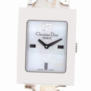 (ウォッチ) Christian Dior クリスチャンディオール マリス シェル文字盤 フェイクパール D78-109 レディース クォーツ 腕時計(u) blumin