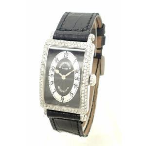 (ウォッチ)FRANCK MULLER フランク ミュラー ロングアイランド クロノメトロ ベゼル ラグダイヤ K18WG レディース クォーツ 腕時計 902 QZ D CHRONOMETRO(u) blumin