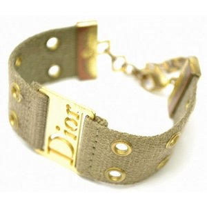 (ジュエリー) Christian Dior クリスチャンディオール ロゴ ブレスレット(u) blumin