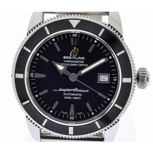(ウォッチ)BREITLING ブライトリング スーパーオーシャン ヘリテージ42 ブラックベゼル メンズ 腕時計 オートマ A17321(u)|blumin