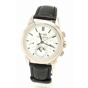 (ウォッチ)PATEK PHILIPPE パテックフィリップ グランド コンプリケーション K18WG ホワイトゴールド メンズ 手巻 腕時計 5270G-001 (u)|blumin