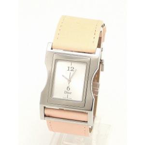 (ウォッチ)Christian Dior クリスチャンディオール クリス47 クォーツ 腕時計 CD033110(u) blumin