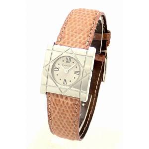 (ウォッチ)Christian Dior クリスチャンディオール シルバー文字盤 レディース クォーツ 腕時計 D82-1000(k) blumin