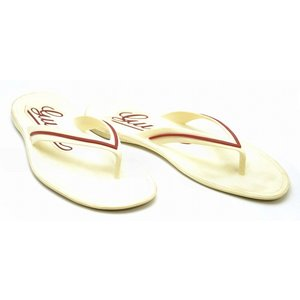 (靴)GUCCI グッチ メンズ サンダル ビーチサンダル ラバー オフホワイト ボルドー(k)|blumin