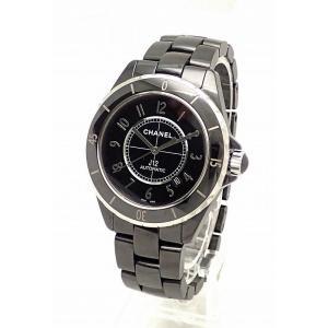 (ウォッチ)CHANEL シャネル J12 ブラック セラミック 黒 42mm メンズ 腕時計 オートマ 自動巻 H2980(u)|blumin