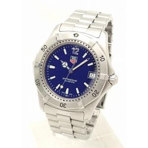 (ウォッチ)TAG Heuer タグホイヤー 2000シリーズ プロフェッショナル ブルー文字盤 メンズ クォーツ 腕時計 WK1113-0(k)|blumin