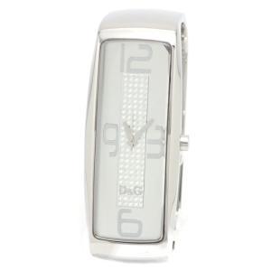 (ウォッチ)DOLCE&GABBANA ドルチェ&ガッバーナ D&G TIME インテリジェンス バングル ウォッチ レディース クォーツ 腕時計 DG-DW0233 (k)|blumin