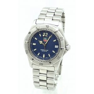 (ウォッチ)TAG Heuer タグホイヤー プロフェッショナル 2000シリーズ 37MM ブルーダイアル メンズ クォーツ 腕時計 WK1113(k)|blumin
