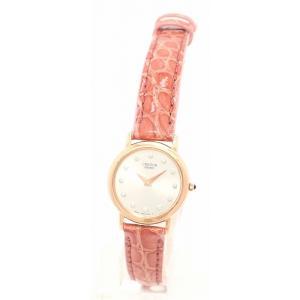 (ウォッチ)SEIKO セイコー CREDOR クレドール 12Pダイヤ シルバー文字盤 K18PG ピンクゴールド レディース QZ クォーツ 腕時計 4j80-0010 GYAW002(u)|blumin