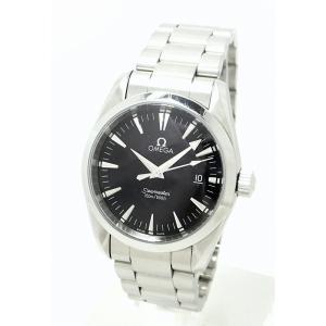 online store bdcbd 47715 (ウォッチ)OMEGA オメガ シーマスター アクアテラ 36mm ブラック文字盤 メンズ QZ クォーツ 腕時計 2518 50 2518.50(u)
