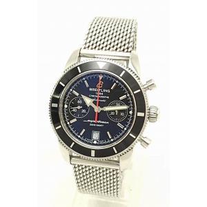 (ウォッチ)BREITLING ブライトリング スーパーオーシャン ヘリテージ クロノグラフ 44 デイト メンズ AT オートマ 腕時計 A23370 A237B810CA(u)|blumin