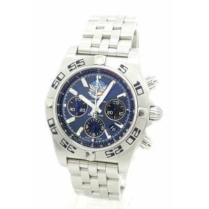 (ウォッチ)BREITLING ブライトリング クロノマット44 ブルーインパルス クロノグラフ デイト 日本400本限定 メンズ AT オートマ 腕時計 AB0110 A013CBIPS(u)|blumin