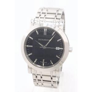 (ウォッチ)BURBERRY バーバリー ヘリテージ デイト ブラック文字盤 メンズ QZ クォーツ 腕時計 BU1364 (k) blumin