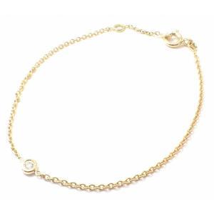 (ジュエリー)Christian Dior クリスチャン ディオール ミミウィ 1Pダイヤ ブレスレット K18YG 750YG イエローゴールド ダイヤモンド MIM95003 (u) blumin